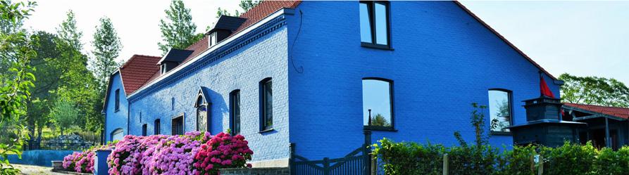 Het Blauwe Huis - voorkant